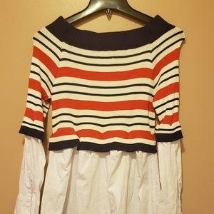 Sweater Shirt Dress